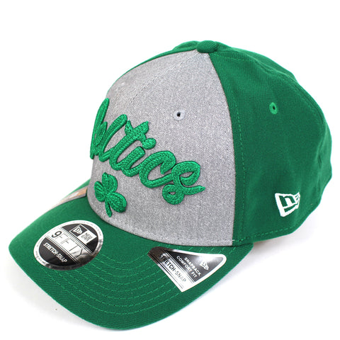 New Era Boston Celtics NBA 20 Draft Curved Snapback