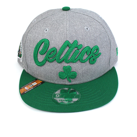 New Era Boston Celtics NBA 20 Draft Snapback