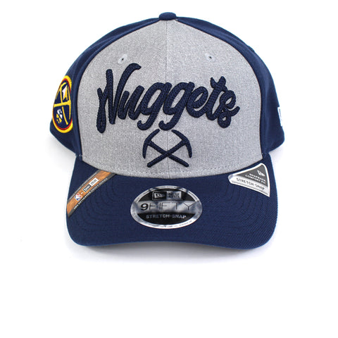 New Era Denver Nuggets NBA 20 Draft Curved Snapback