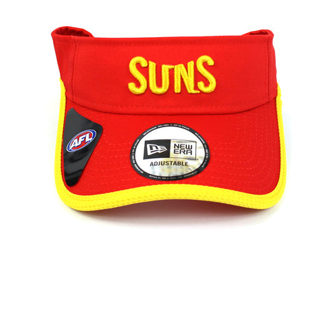 New Era Gold Coast Suns 2021 Onfield Visor