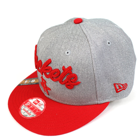 New Era Houston Rockets NBA 20 Draft Snapback