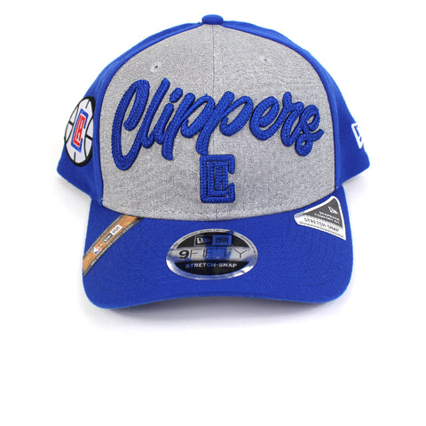 New Era LA Clippers NBA 20 Draft Curved Snapback