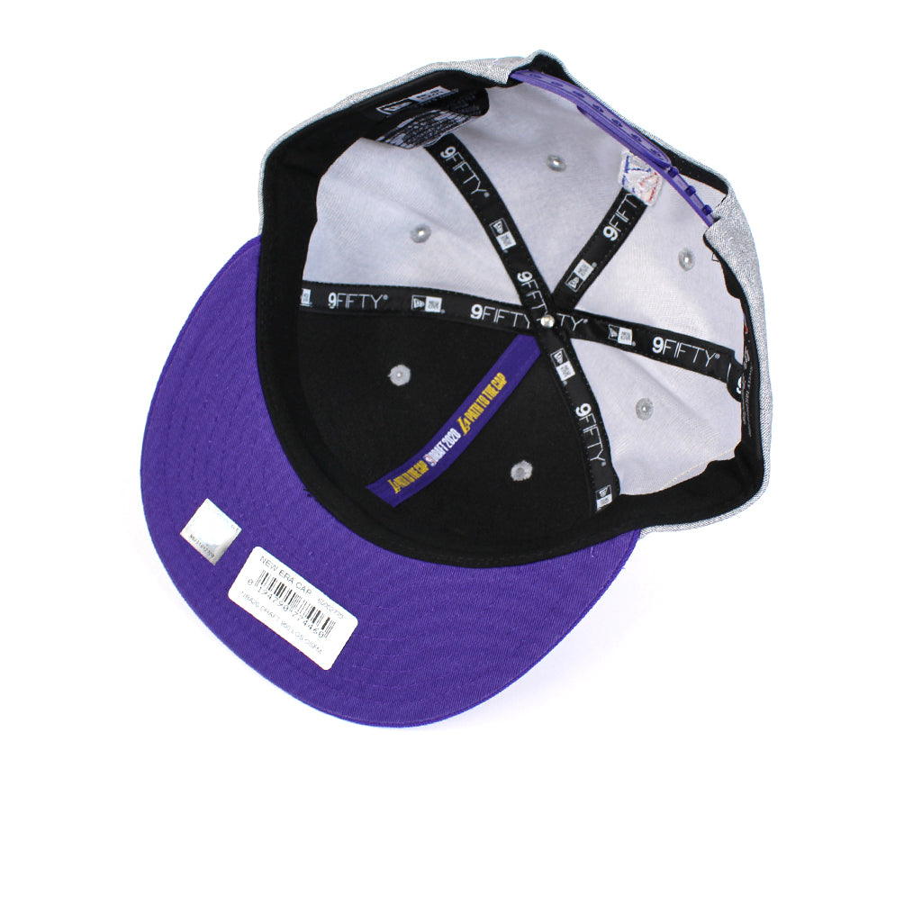 New Era LA Lakers NBA 20 Draft Snapback
