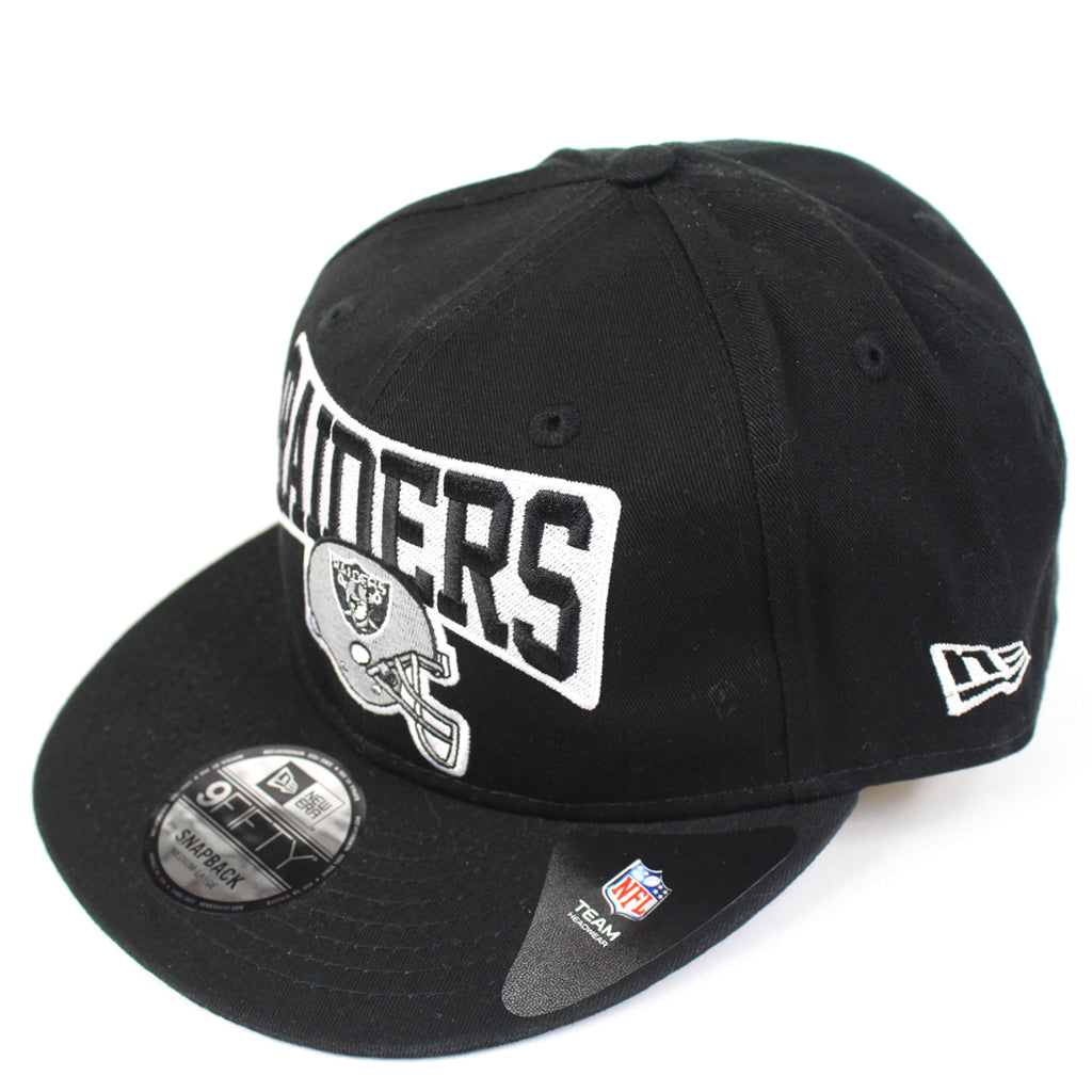 Oakland Raiders Hat Black Raiders Helmet Snapback New Era