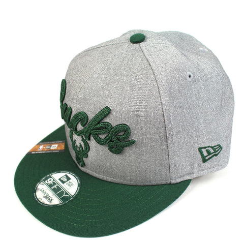 New Era Milwaukee Bucks NBA 20 Draft Snapback
