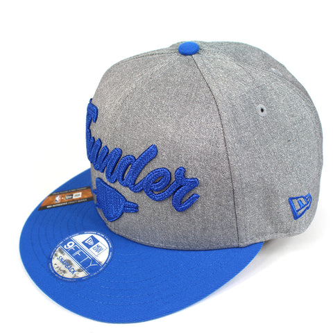 New Era Oklahoma City Thunder NBA 20 Draft Snapback