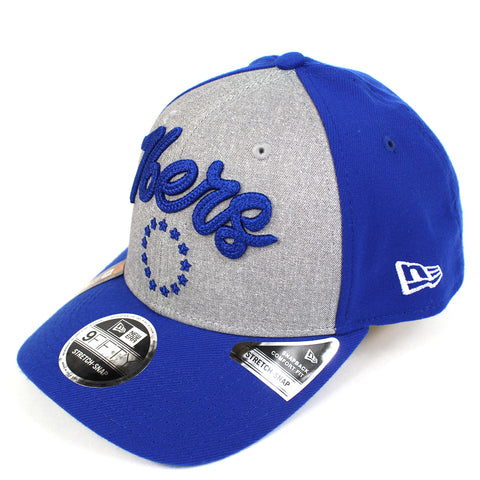 New Era Philadelphia 76ers NBA 20 Draft Curved Snapback