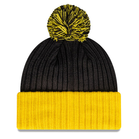 Richmond Tigers Beanie Black AFL 2021 Plain Cuff OTC New Era