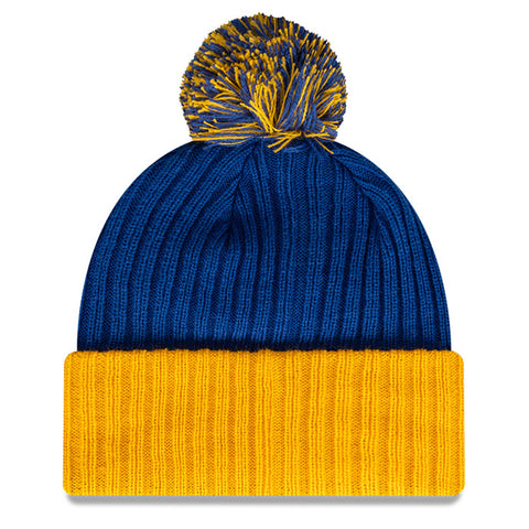 West Coast Eagles Beanie Blue AFL 2021 Plain Cuff OTC New Era