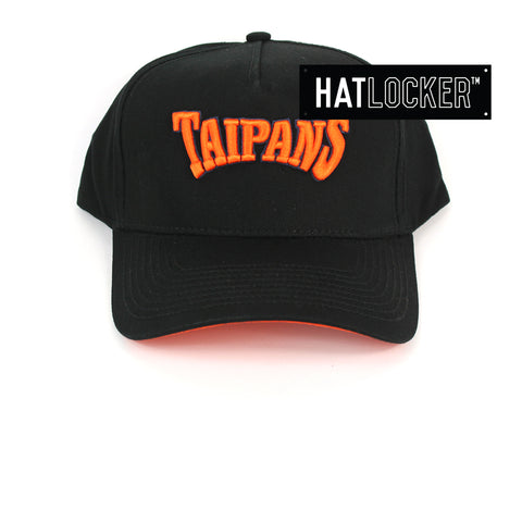 First Ever Cairns Taipans Original Wordmark Curved Snapback