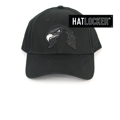 First Ever Illawarra Hawks Black On Black Premium Curved Snapback