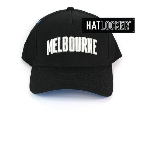 First Ever Melbourne United Original Wordmark Curved Snapback