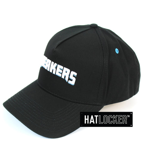 First Ever New Zealand Breakers Original Wordmark Curved Snapback