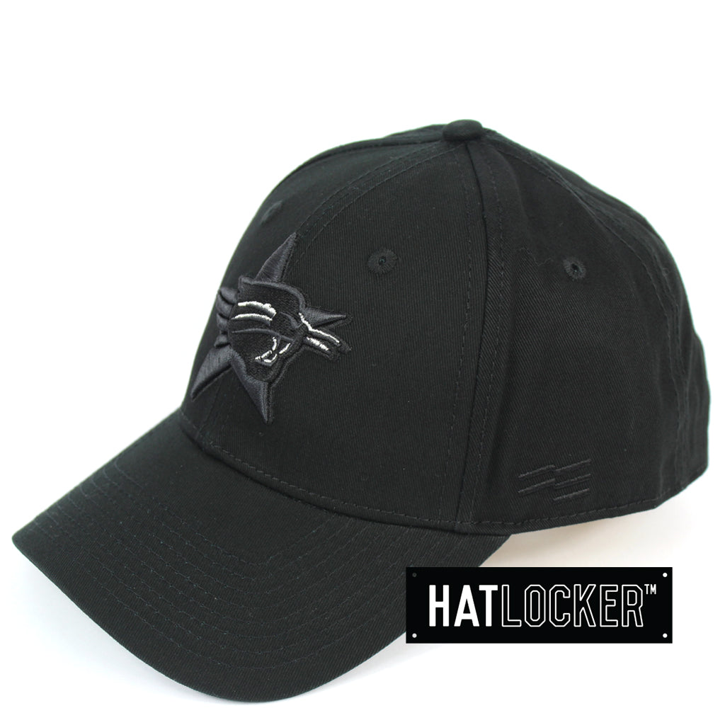 First Ever Perth Wildcats Black On Black Premium Curved Snapback