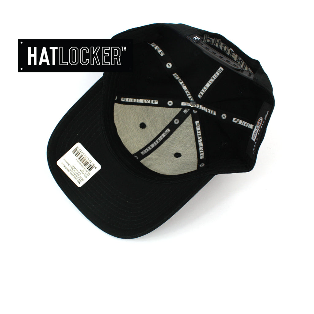 First Ever Melbourne United Black On Black Premium Curved Snapback