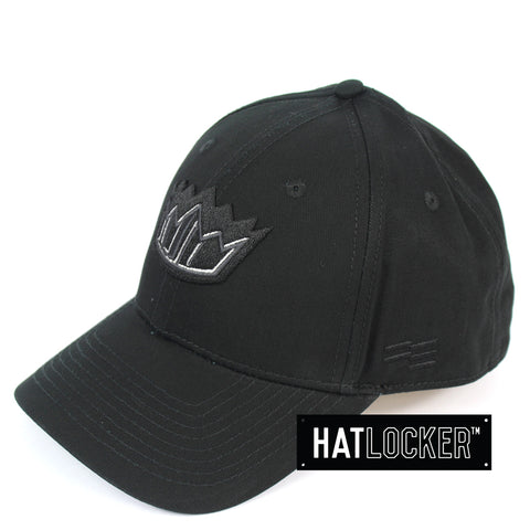 First Ever Sydney Kings Black On Black Premium Curved Snapback