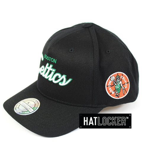 Mitchell & Ness Boston Celtics 110 Script Colour Pop Curved Snapback