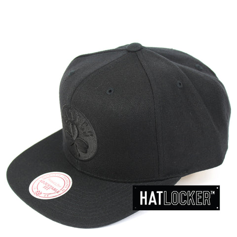 Mitchell & Ness Boston Celtics All Black High Crown Snapback