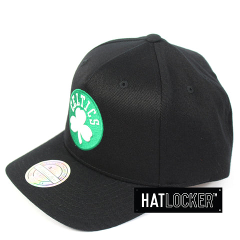 Mitchell & Ness Boston Celtics Colour Logo 110 Curved Snapback