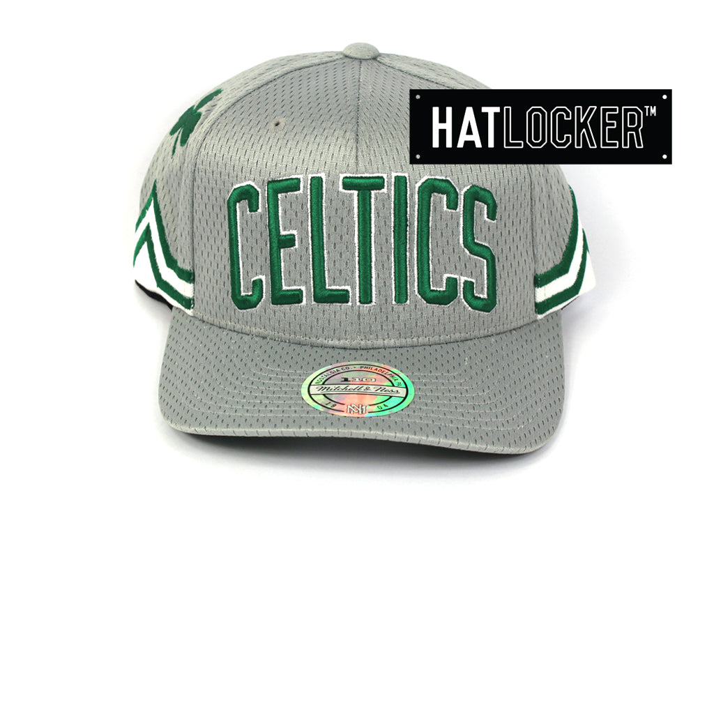 Mitchell & Ness Boston Celtics City Series 110 Curved Snapback