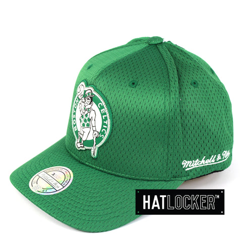 Mitchell & Ness Boston Celtics Icon 110 Curved Snapback Hat