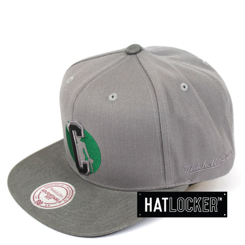 Mitchell & Ness Boston Celtics Overlap Snapback Cap
