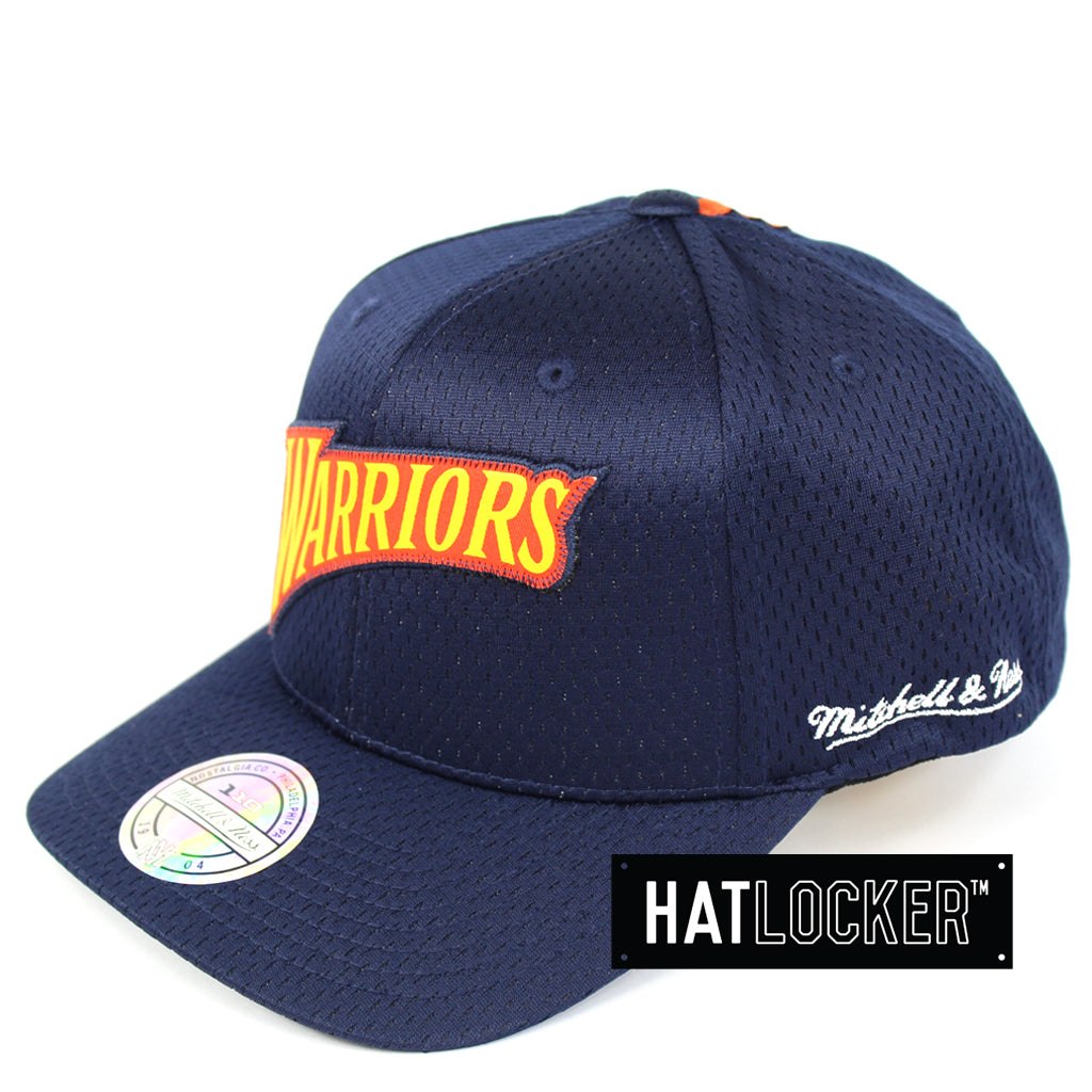 Mitchell & Ness Golden State Warriors Icon 110 Curved Snapback