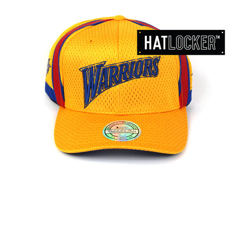 Mitchell & Ness Golden State Warriors City Series 110 Curved Snapback