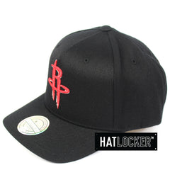 Mitchell & Ness Houston Rockets Colour Logo 110 Curved Snapback