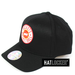 Mitchell & Ness Houston Rockets Full Court Logo 110 Curved Snapback