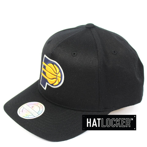 Mitchell & Ness Indiana Pacers Colour Logo 110 Curved Snapback