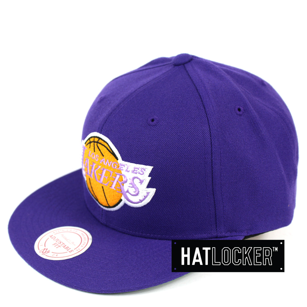 Mitchell & Ness LA Lakers Retro Crown Throwback Snapback