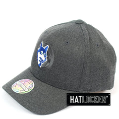 Mitchell & Ness Minnesota Timberwolves Decon Grey Curved Snapback