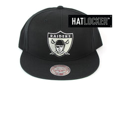 Mitchell & Ness Oakland Raiders Retro Crown Throwback Snapback