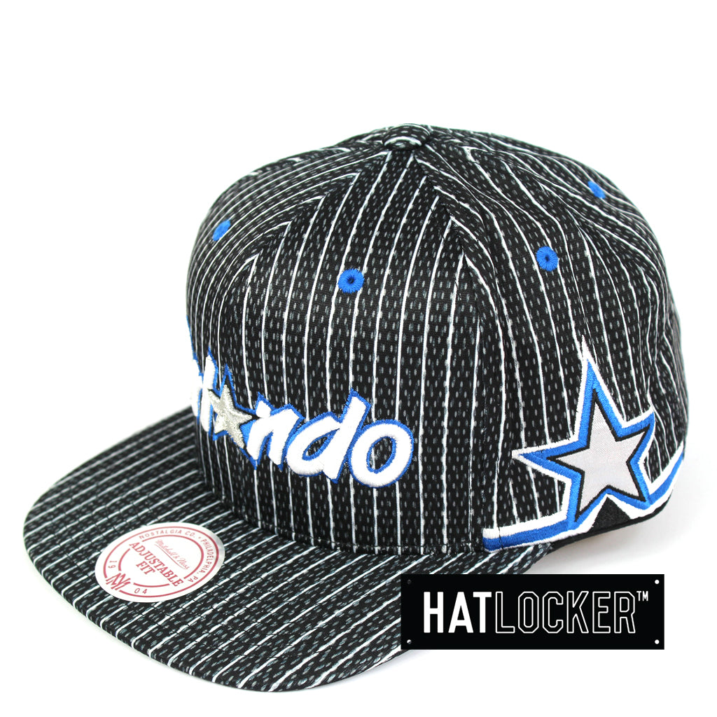 85d94d16d74 Mitchell   Ness Orlando Magic Jersey Hook Mesh Snapback Hat