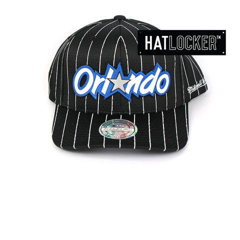Mitchell & Ness Orlando Magic Icon 110 Curved Snapback Cap