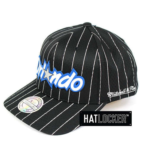 low cost cfb31 c0f46 Mitchell   Ness Orlando Magic Icon 110 Curved Snapback Cap