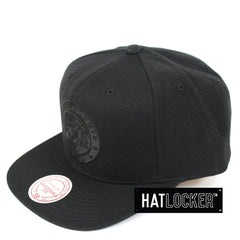 Mitchell & Ness Philadelphia 76ers All Black High Crown Snapback