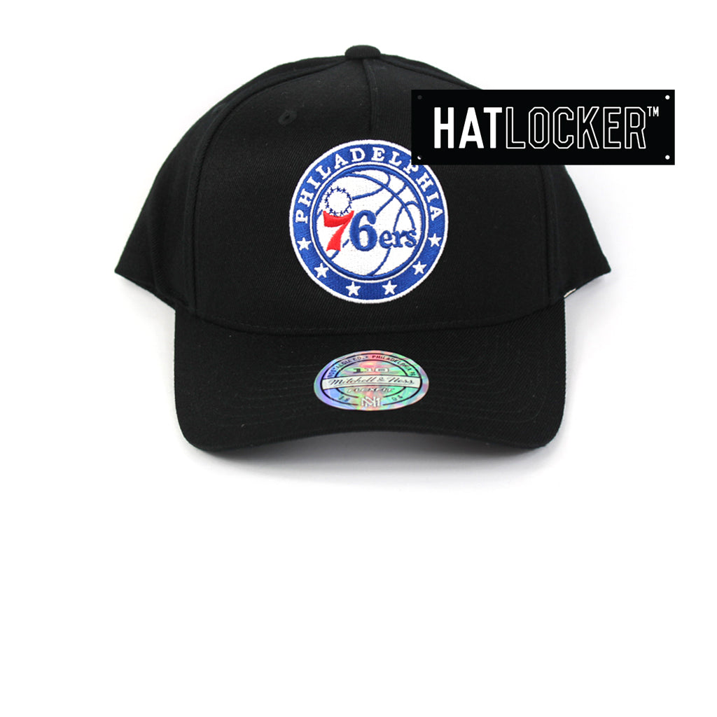 Mitchell & Ness Philadelphia 76ers Colour Logo 110 Curved Snapback