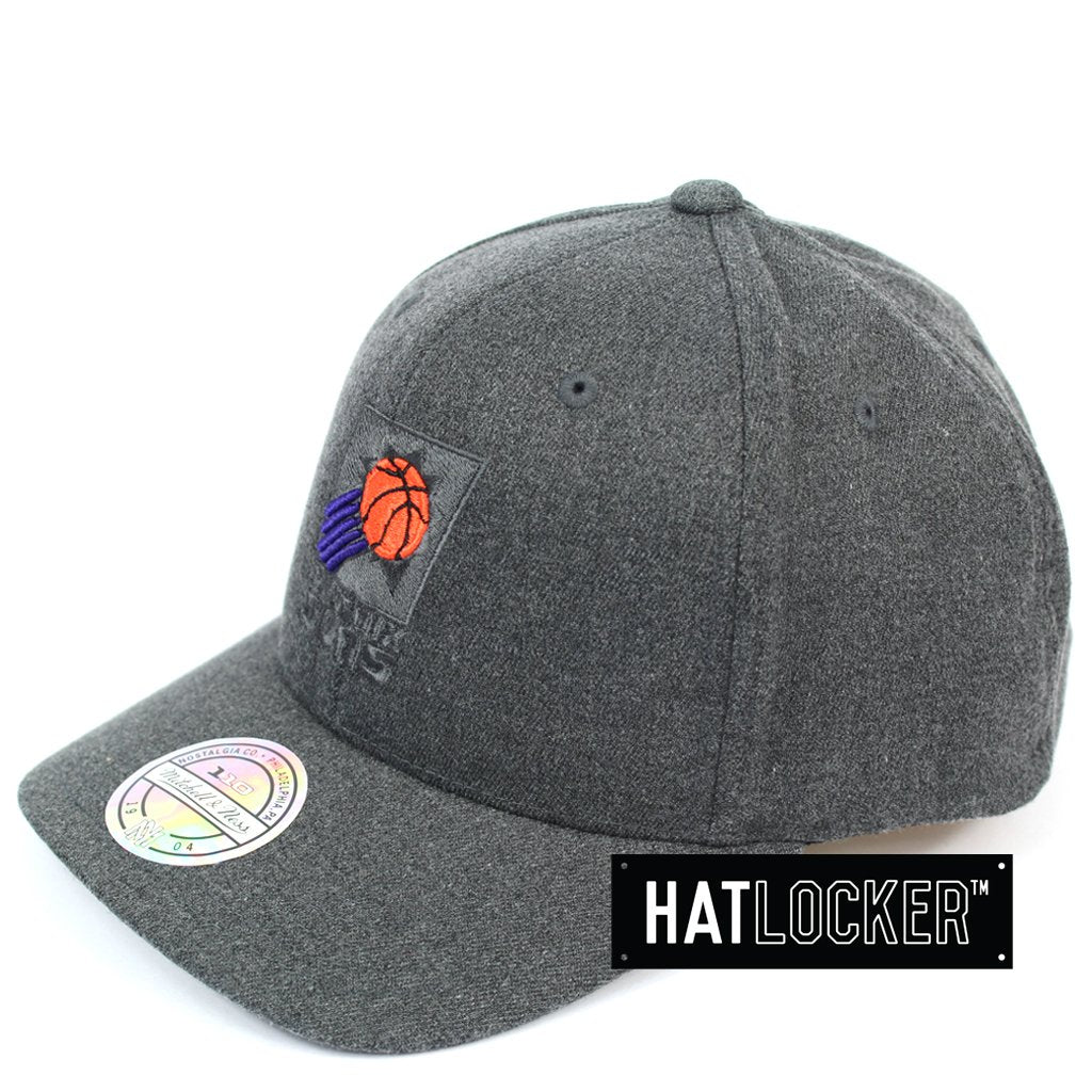 Mitchell & Ness Phoenix Suns Decon Grey Curved Snapback