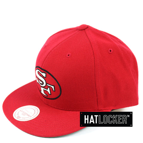 Mitchell & Ness San Francisco 49ers Retro Crown Throwback Snapback