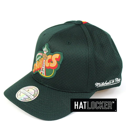 Mitchell & Ness Seattle Supersonics Icon 110 Curved Snapback