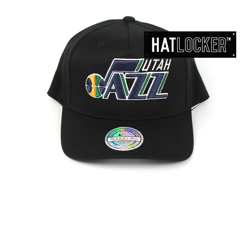 Mitchell & Ness Utah Jazz Colour Logo 110 Curved Snapback