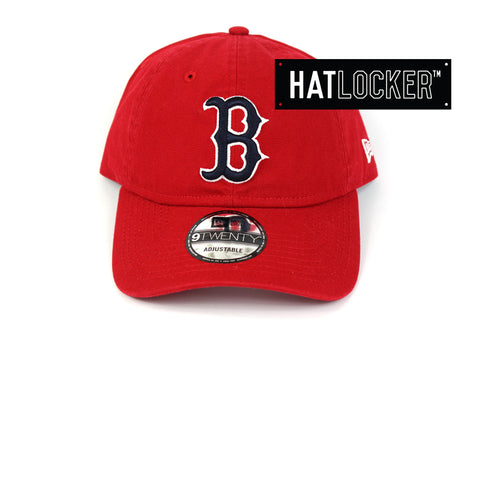 New Era Boston Red Sox Red Outline Classic Curved Brim