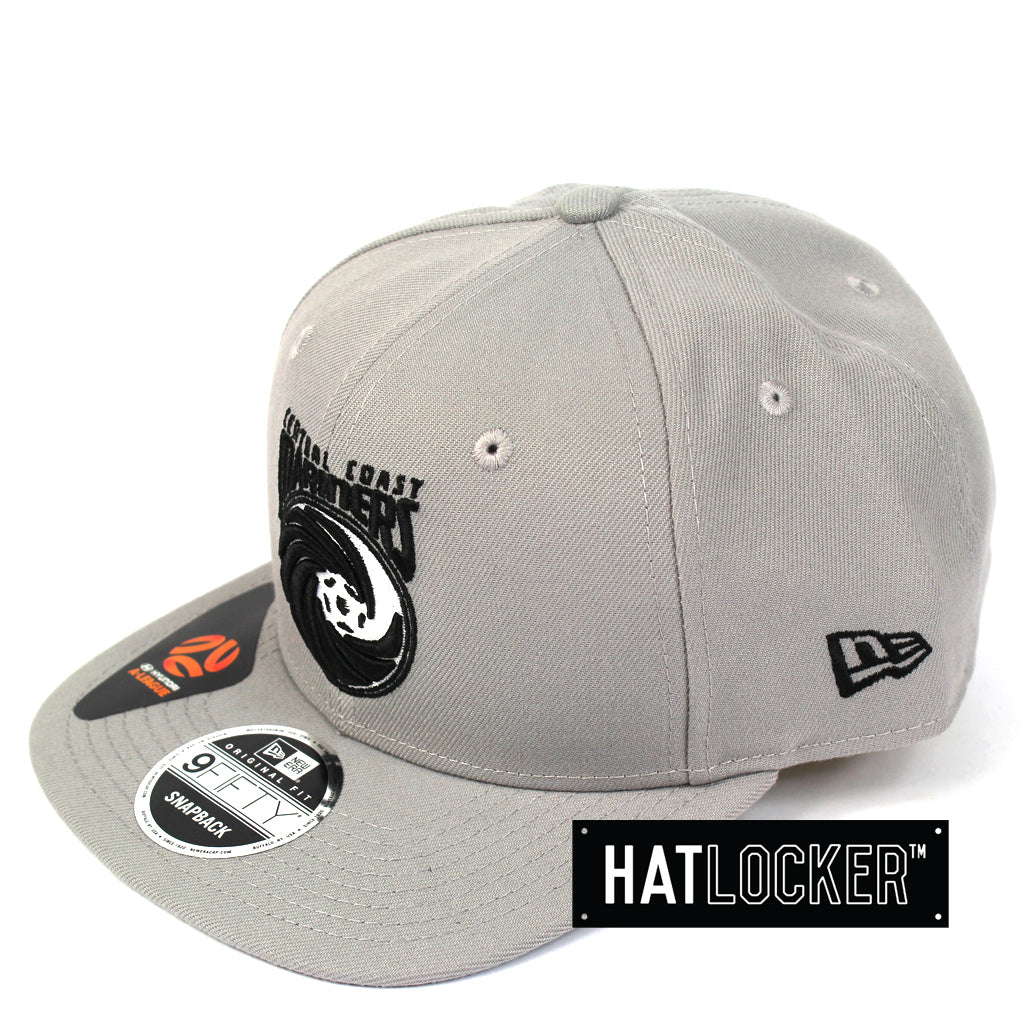 New Era Central Coast Mariners Grey Snapback Cap