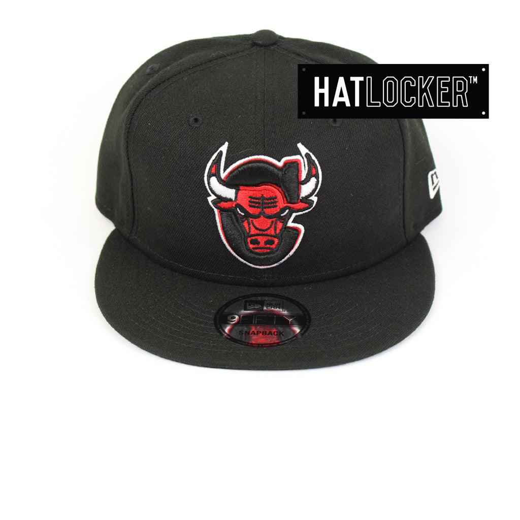 New Era Chicago Bulls Back Half Team Colour Snapback Hat