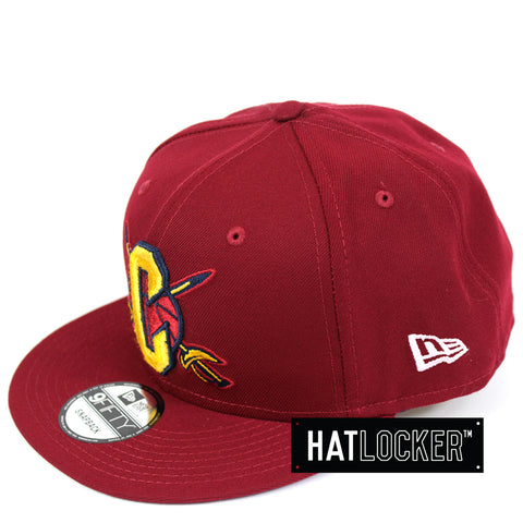 New Era Cleveland Cavaliers Back Half Team Colour Snapback Hat