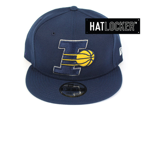 New Era Indiana Pacers Back Half Team Colour Snapback Hat