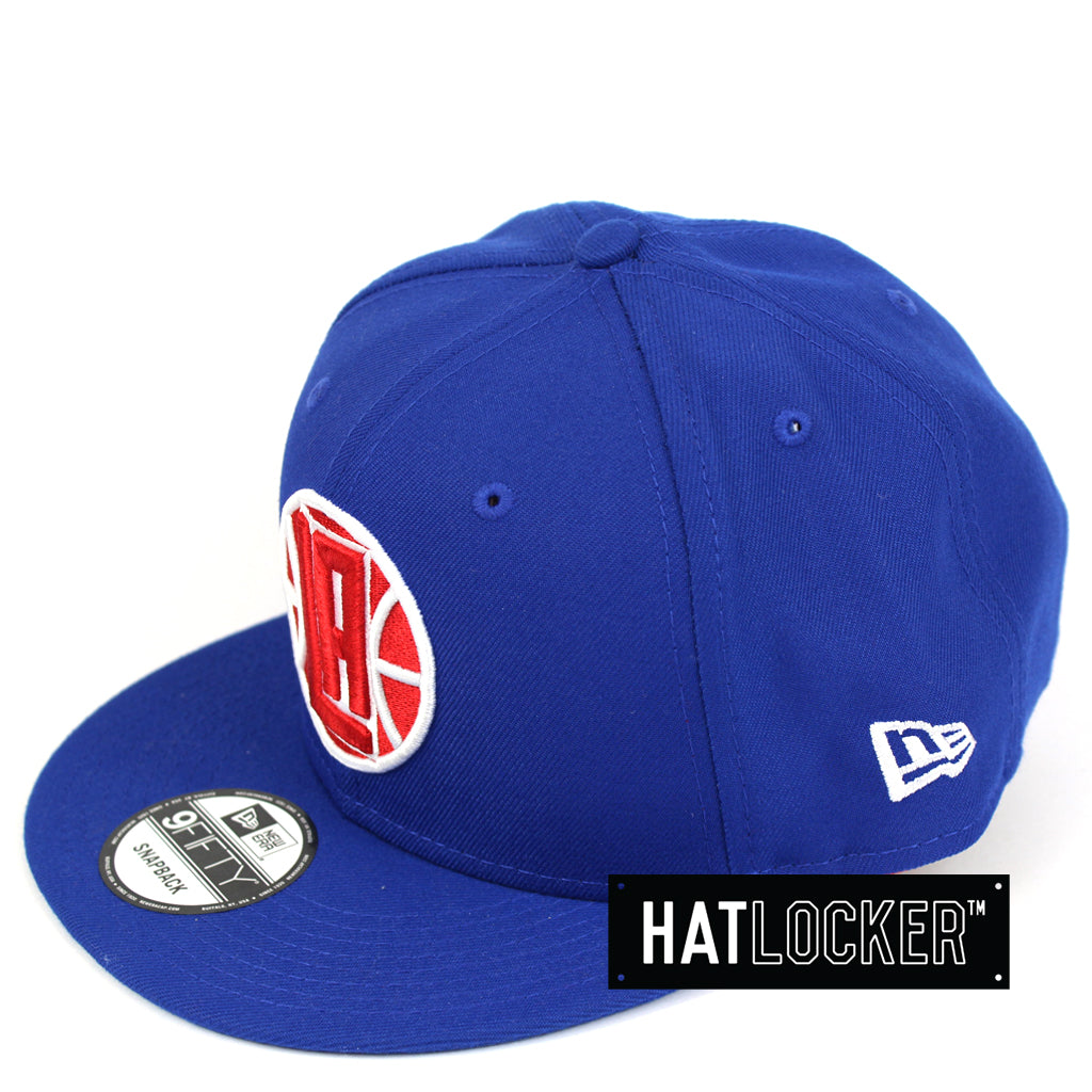 New Era LA Clippers Back Half Team Colour Snapback Hat