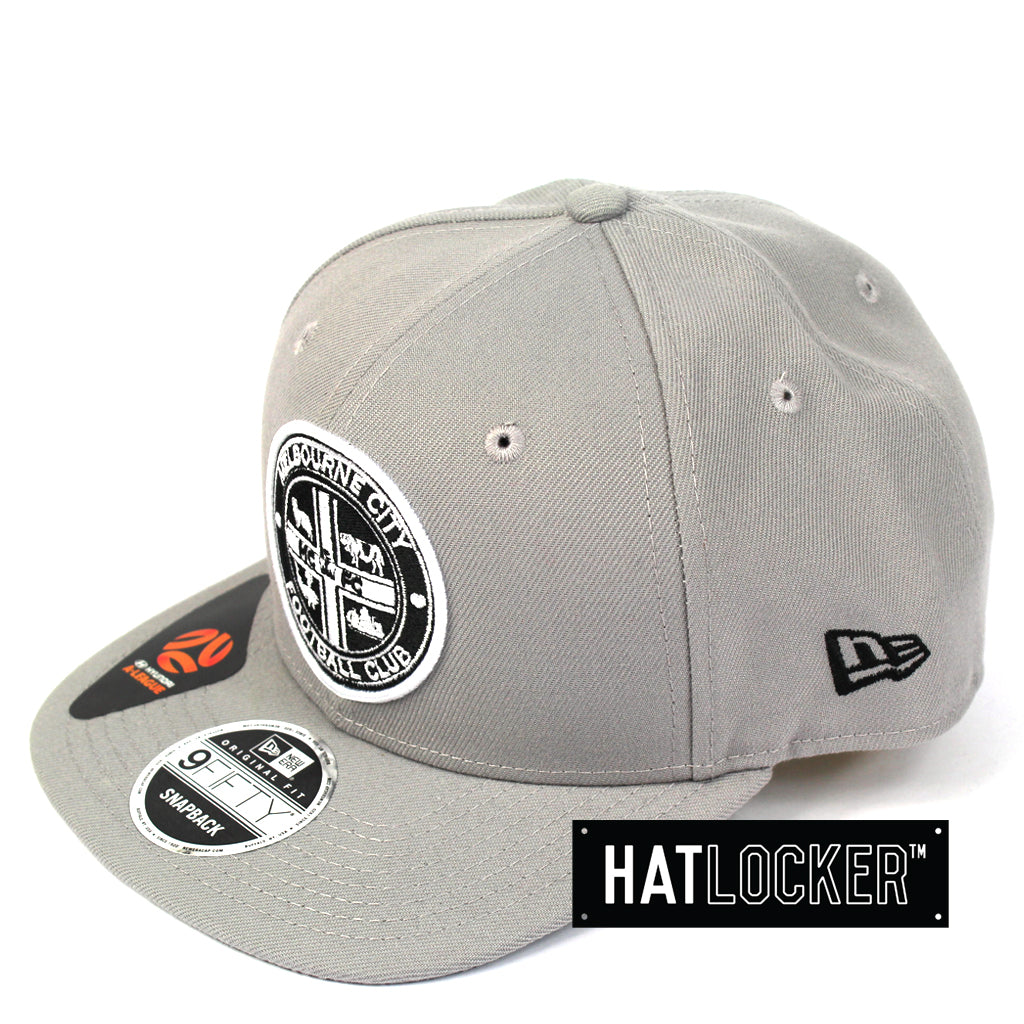 New Era Melbourne City Grey Snapback Cap